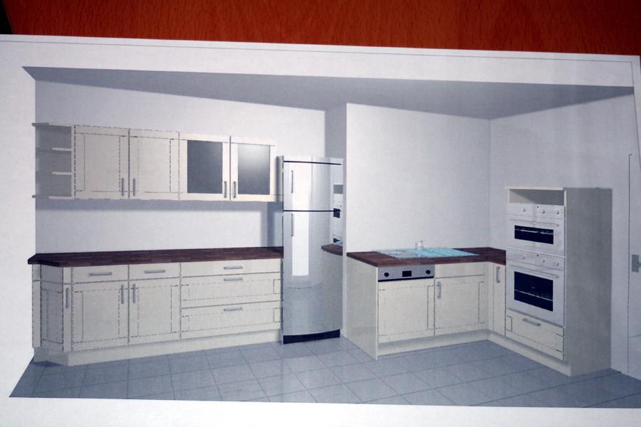 Salon design vert blanc gruse - Cuisine atlas catalogue ...